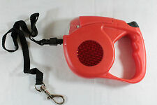 New 15' Automatic Retractable Pet Dog Leash With Flash Light