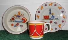 Tiffany & Co Child's Dish and Cup Set - 3 pieces