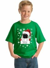 Funny Ugly Christmas sweater Kid's Youth T-Shirt - GREEN - Merry Xmas shirt