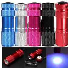 Cool MINI 9 LED Ultra Violet UV Blacklight Portable Flashlight Torch Light Lamp