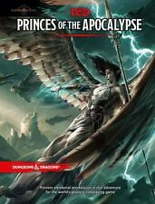 D&d Accessory: Princes of the Apocalypse by Wizards RPG Team (2015 HC) NEW