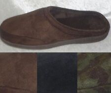 Stafford Mens Slippers Memory Foam velour cover indor outdoor sizes M L NEW