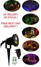 Christmas Waterproof LED Laser Holographic Landscape Projector Outdoor/Indoor
