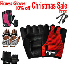 Weight lifting Gym Gloves Training Fitness Wrist Wrap Workout Exercise Glove USA