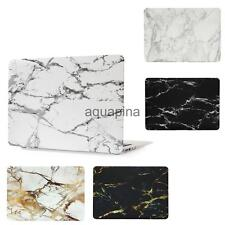 """For Macbook Air Pro Retina 11"""" 12"""" 13"""" 15"""" Hard Case Top Buttom Shell Marble"""