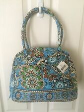 Vera Bradley Bowler Bali Blue New with Tags NWT MSRP $72