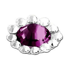 Home Button Sticker For Apple iPhone / iPad / iPod touch , Purple Diamond HP