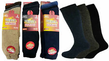 1,3 Pairs Mens Thermal Thick Socks Warm Work Boot Winter Socks Size 6-11
