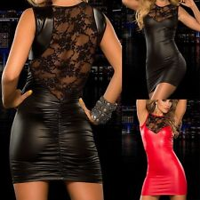 Sexy Women's Bandage Bodycon Lace Evening Party Cocktail Club Short Mini Dress