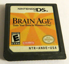 BRAIN AGE TRAIN YOUR BRAIN in MINUTES A DAY  NINTENDO DS 2006
