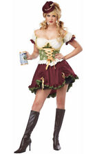 BEER GARDEN WENCH GIRL RENAISSANCE ADULT WOMENS FANCY DRESS OKTOBERFEST COSTUME