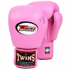 Twins Pink Muay Thai Velcro Boxing  Gloves