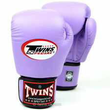 Twins Lavender Muay Thai Velcro Boxing  Gloves
