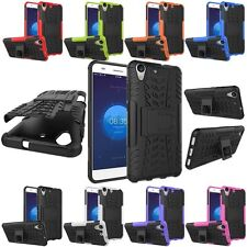 Rugge Shockproof  Hybrid Armor Hard KickStand Case Cover For Huawei Ascend Y6 II