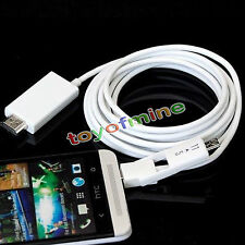 2iN1 5 Pin/11 Pin Micro USB MHL to HDMI 1080P Cable Adapter for Android Phone US