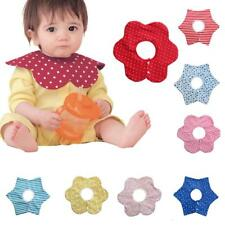 Infant Baby Bib Cotton Bandana Feeding Saliva Towel Dribble Pinny Scarf for Kids