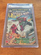 "AMAZING SPIDER-MAN #122 (1973) CGC 6.5  ""DEATH"" OF GREEN GOBLIN!  MARVEL KEY!"