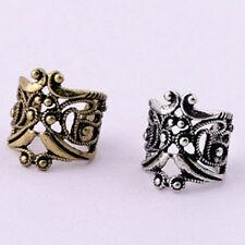 U Style Hollow Out Retro No Pierced ears Clip stud earrings Fashion Jewelry Gift