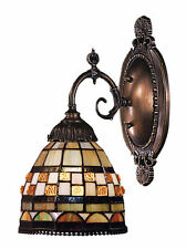 Jewelstone Mix-N-Match 1-Light Tiffany-Style Wall Sconce by ELK Lighting