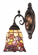 Floral Garden Mix-N-Match 1-Light Tiffany-Style Wall Sconce by ELK Lighting