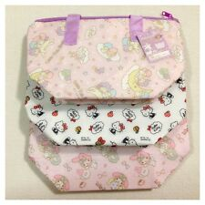 SANRIO / ALUMINUM COOLER BAG Lunch Bento Hello Kitty Little Twin Stars My Melody