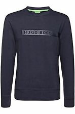 Sweatshirt Hooded New Plain Hoody Fleece Mens Up Top Jacket Hoodie S Hugo Boss