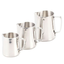 Thick Milk Coffee Tea Lattes Drink Frothing Pitcher Stainless Steel Cup Mug