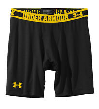 Under Armour Heatgear Sonic Mens Compression Baselayer Shorts Black[1236237-003]