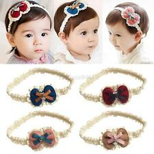 1Pcs Lace Bowknot Kids Baby Girl Toddler Headband Hair Band Headwear Accessories