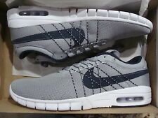 MEN'S NIKE KOSTON MAX 833446 041 WOLF GREY OBSIDIAN WHITE SIZE 8~12