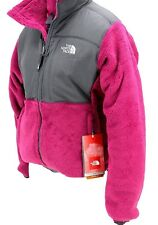 The North Face Women's Denali Thermal Jacket Loganberry Red / Graphite Grey