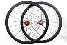 carbon fixed gear single speed road wheel 25mm width Clincher track hub.700C