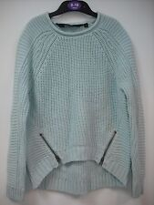 BNWOT New Look Warm & Cosy Teal/Mint Jumper - Ready for Winter.  Age 9-15 Years