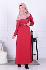 Sefamerve Red Hijab Dress
