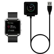 USB Charging Cable Charger For Fitbit Blaze Force Flex2 Surge Force Tracker