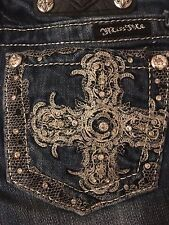 "Miss Me Girls jeans JK6135B ""Jewel Cross"" boot cut"