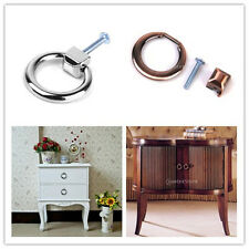 Modern Cabinet Drawer Dresser Cupboard Closet Pull Handle Wardrobe Ring Knob