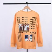 Men's Lovers Kanye West The Life Of Pablo T Shirt Yeezy Season 3 Hip Hop Clothes
