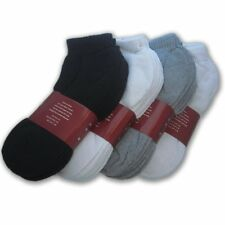 8 Dz 96 Pairs Ankle Quarter Crew Mens Socks Cotton low cut Size 9-13 WHOLESALE