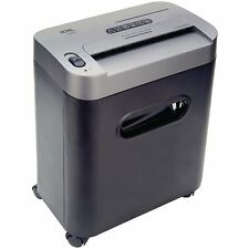 Royal 112MX 12-Sheet Cross Cut Shredder Shreds CD's with Console (Black)+New....