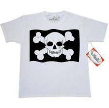 Inktastic Pirate Lover Flag Youth T-Shirt Skull And Crossbones Kids Funny Gift
