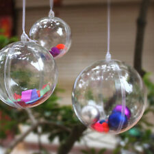 Christmas Decorations Hanging Ball Round  Bauble Ornament Xmas Tree Decor UK