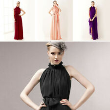 Fantastic 8 Colors Evening Maternity Dress Chiffon Gown Bohemia Dress FS945