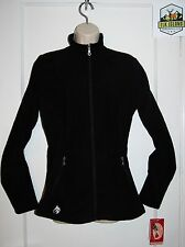 Hot Chillys Salsa Jacket Black PLUSH + WARM Full Zip Shopping Casual Womens M