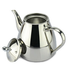 Teapot Kitchen Dining Stainless Steel Hot Water Teapots Pot Coffee Drip Kettle