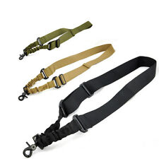 New Tactical Hunting Sling System Strap 1 Single Point Adjustable With Buckle