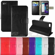 Magnetic Wallet Card Slots Case Flip PU Leather Stand Cover For Blackberry Z10