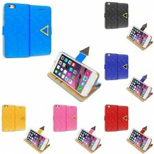 For Apple iPhone 6S Plus 5.5 Wallet Pixel Luxury Design Case Cover Pouch