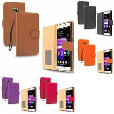 For Samsung Galaxy Note 7 Wallet Case Flip PU Leather w/ Credit Pockets Slots