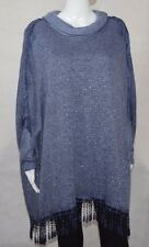 New Ladies Italian Lagenlook Layered Mohair Lace Design Shirt Tunic Top OSFA